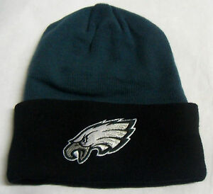 Image is loading NFL-Philadelphia-Eagles-Reebok-Winter-Cuffed-Knit-Hat- 87dfcf597