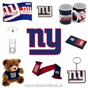 New-York-Giants-Fanshop-NFL-Football-Fanartikel-Schal-Fahne-Pin-Tasse-uvm