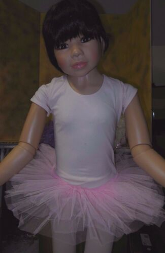 NWT Wolff Fording stiff net #4904 Candy pink tutu Girls//Ladies Ballet 3 layer