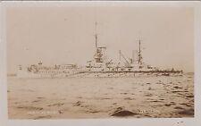 "German Imperial Navy Real Photo. SMS ""Konig Albert"" Kaiser Battleship. c 1915"