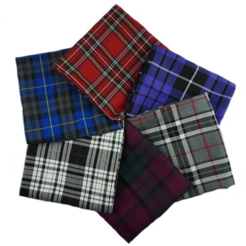 Patchwork, Trapunta, Craft Poly Viscosa Tessuto Tartan Fat Quarter Bundle-Design 1