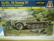in 1:35 510006561 Italeri 6561   . Italeri Sd.Kfz.10 Demag D7 w//German Paratr