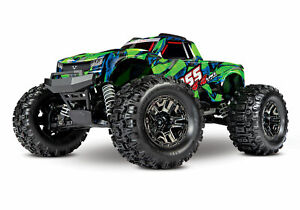 Traxxas-Green-HOSS-4x4-VXL-Brushless-RTR-Monster-Tuck-TRA90076-4-GRN