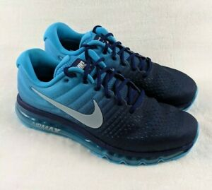official images shoes for cheap best website Nike Air Max 2017 Running Shoes Binary Glacier Blue 849559-404 ...