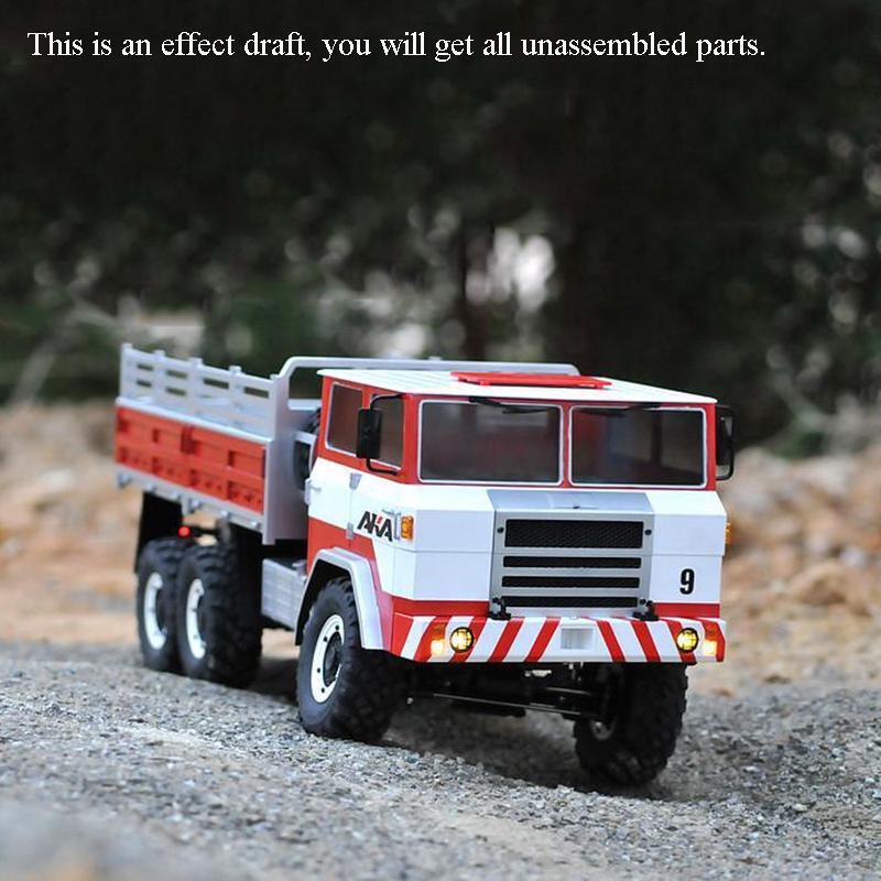 Crossrc 1 12 coche camión militar XC6-B 66 Off Road kit motor luz coche con sonido o