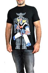 Mazinger 2 anime vintage shin manga robot movie T-Shirt Black