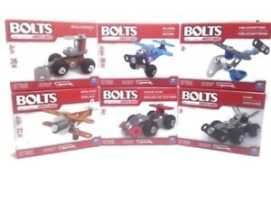 Meccano-Spin-Master-Bolts-Complete-Set-of-6-NEW-building-sets