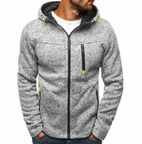 Hoodie Zipper Cardigan Hoodies Men Fashion Tracksuit Sweatshirt Hoody Mens