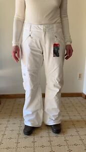 North Face Mujer Medio Dryvent 2l Libertad Lrbc Shell Pantalones De Esqui Tnf Blanco Ebay