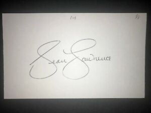 1998 PIRATES: Sean Lawrence, SIGNED 3x5 Card (JS)