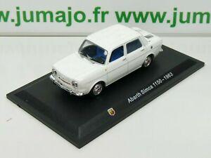 IT72N-Voiture-1-43-Hachette-STARLINE-ABARTH-Simca-1150-1963