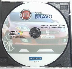 DVD-MANUALE-OFFICINA-FIAT-NUOVA-BRAVO-1-4-16V-T-JET-1-9-JTD-8V-16V-MULTIJET