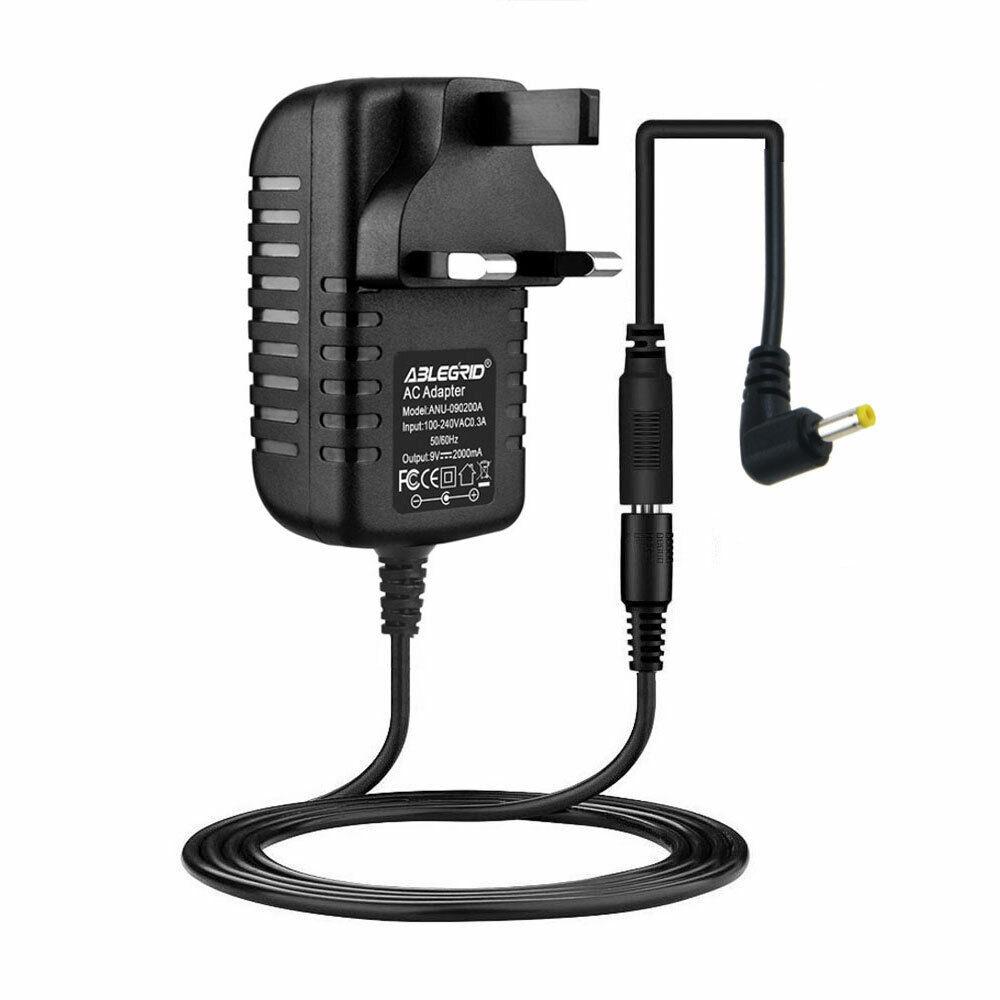 9V AC/DC Adapter Charger For Bush CDAB51R DAB radio Power Supply Cord Mains