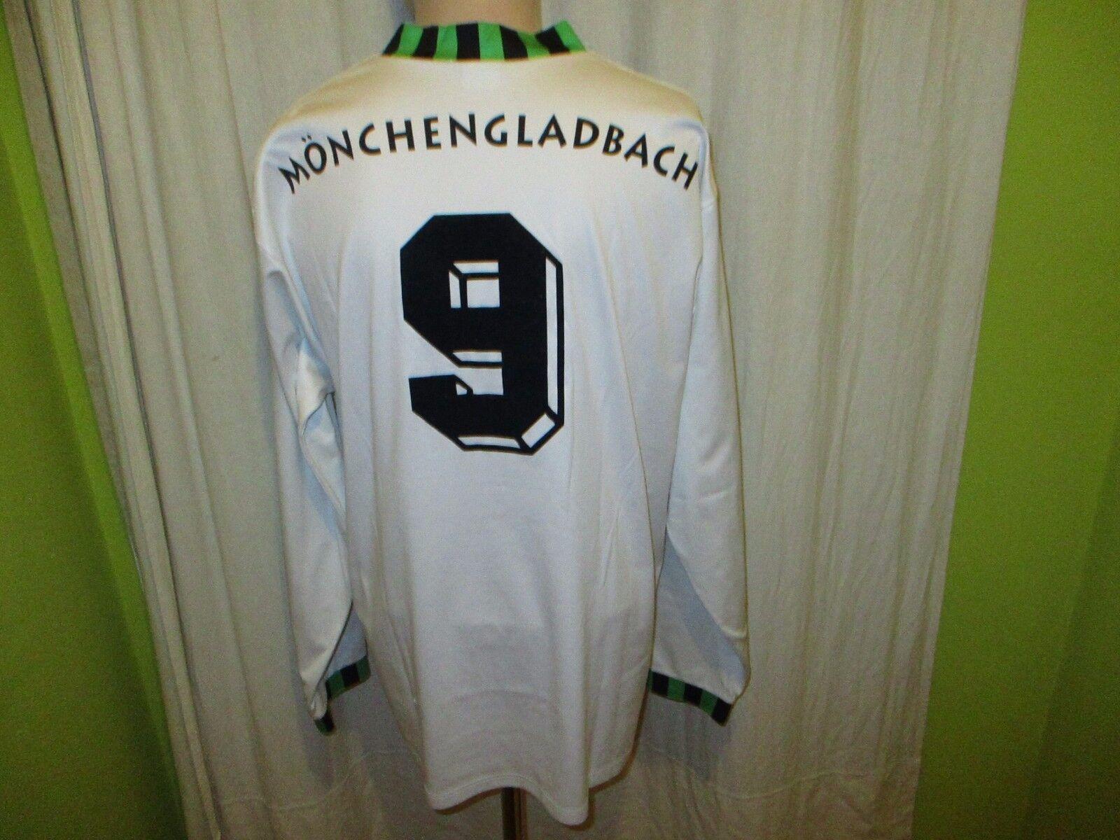 Borussia Mönchengladbach asics Langarm Trikot 1992-1994