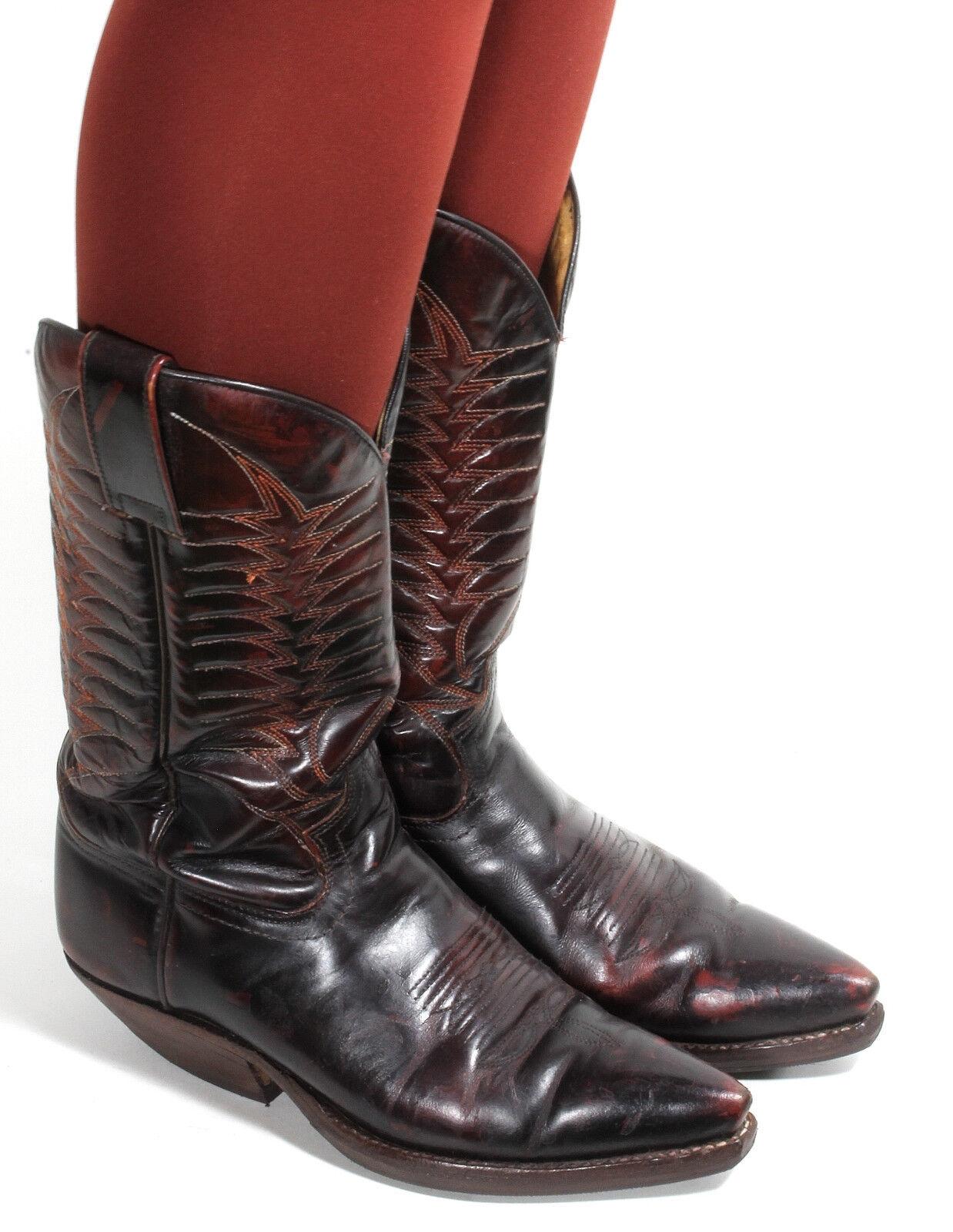 Westernstiefel Cowboystiefel Catalan Style Line Dance Texas Mosquito Stiefel 37