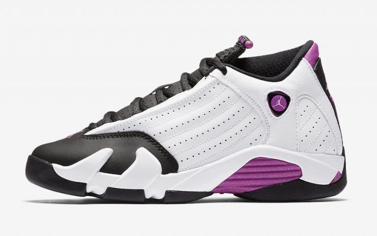 quality design 0e420 7d790 ... 50% off nike air jordan retro xiv 14 purpura blanco fucsia negro rosa  purpura 14