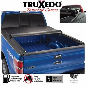 Truxedo Truxport Roll Up Tonneau Cover 04 10 Ford F150 250 350 Flareside 6 5 Bed Ebay