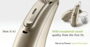 Details about New Phonak Audeo Marvel M90-R/ M90-312 RIC Hearing Aids for  iPhone & Android