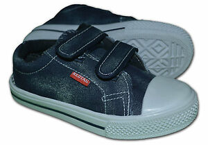 Boys-girls-Lona-pumps-plimsoles-Color-Azul-Marino-Talla-Uk12-5-eur31-gastos-de-envio-gratis