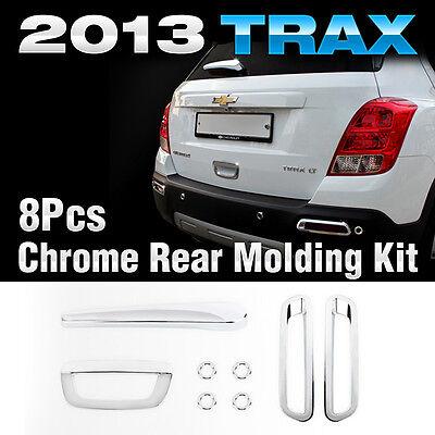 Chrome Rear Lamp Garnish Molding Trim K-592 For CHEVROLET 2013-2019 Trax