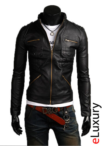 Jacket Uomo Homme N16f Blouson Leather Giubbotto Cuir Veste In Pelle Giacca Men xqPYFwRHcS