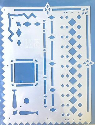 NEW EK Success Jr Argyle Border Buddy Scrapbook Template