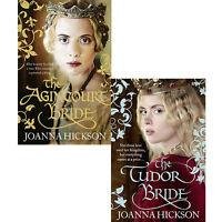 Joanna Hickson Collection 2 Books Set Pack The Tudor Bride ,The Agincourt Bride