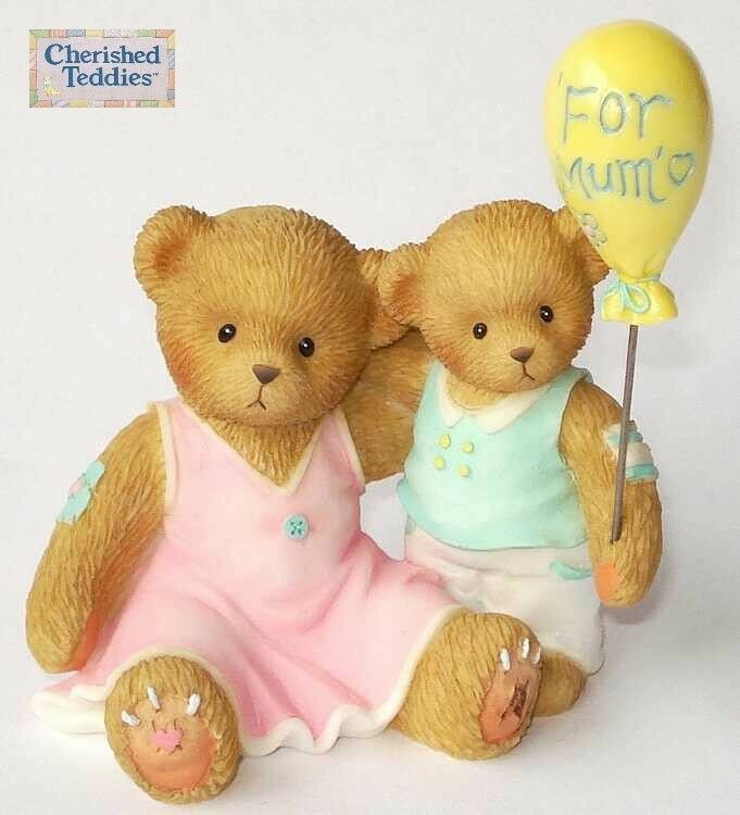 CHERISHED TEDDIES 2009 FIGURINE, MUM, H SAMUEL / UK EXCLUSIVE, 4013416, HTF, NIB