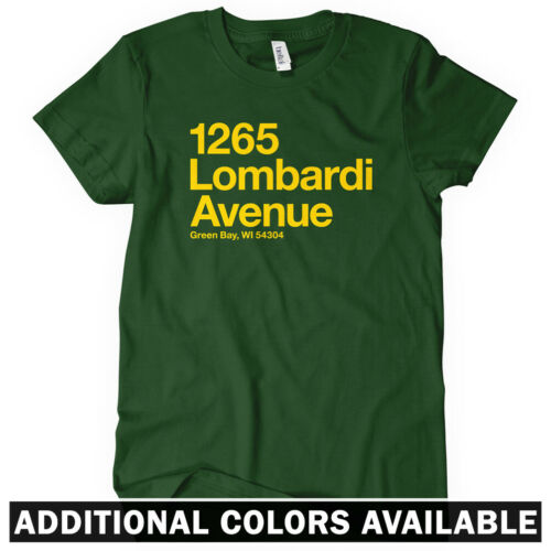 Packers Fan Gift GRB Wisconsin Green Bay Football Stadium Women/'s T-shirt S-2X