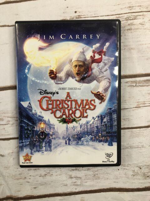 Disneys A Christmas Carol (DVD, 2010) NEW SEALED Jim Carrey Kids Movie 🎥 CSV   eBay