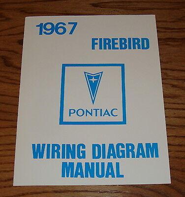 1967 Pontiac Firebird Wiring Diagram Manual 67 | eBay