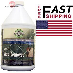 Trewax 1 Gal Floor Stripper Liquid Tough Instant Old Wax
