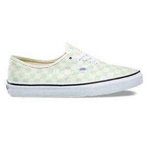 3bf033380a4bf9 Image is loading Vans-Authentic-Checkerboard-Ambrosia-Classic-White -Women-039-