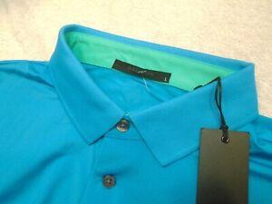 Greyson-Golf-Performance-Fabric-Katonah-Blue-Polo-Golf-Shirt-NWT-Large-95