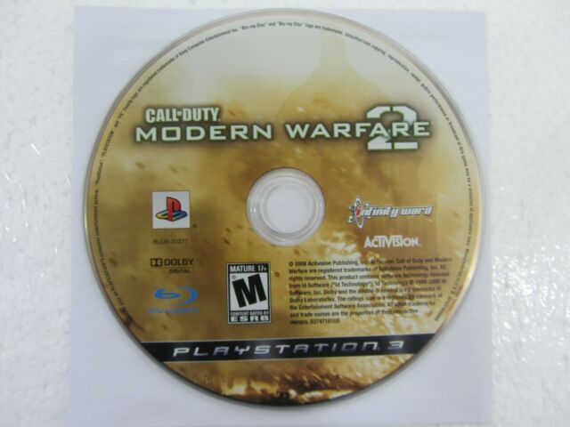 Sony PlayStation 3 Call of Duty Modern Warfare 2 Video Game PS3 - Disc Only