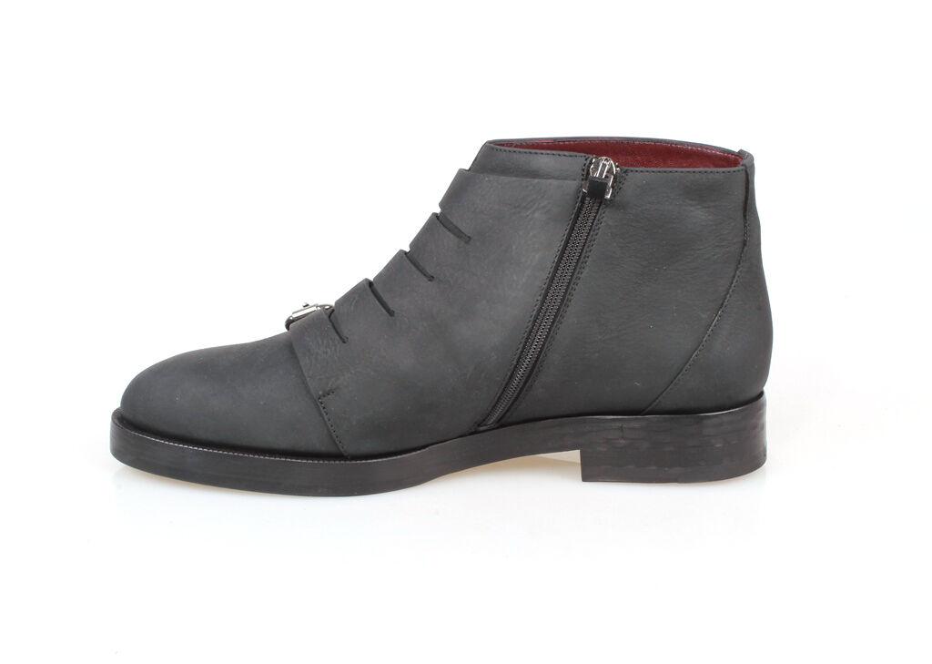 Schuhe Stiefelette Mokassins Frau ALMA (AL5118 Schnallen Leder/Nubuk Preisliste Preisliste Preisliste 4ef636