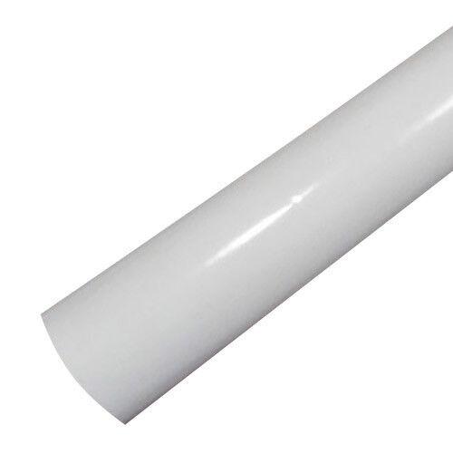 NEW 1M x 1.52M Gloss White Vinyl Car Wrap Roll Air Release Free Squeegee