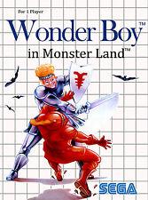 A4 Sega Master System Game Poster – Wonder Boy in Monster Land (Picture Print)