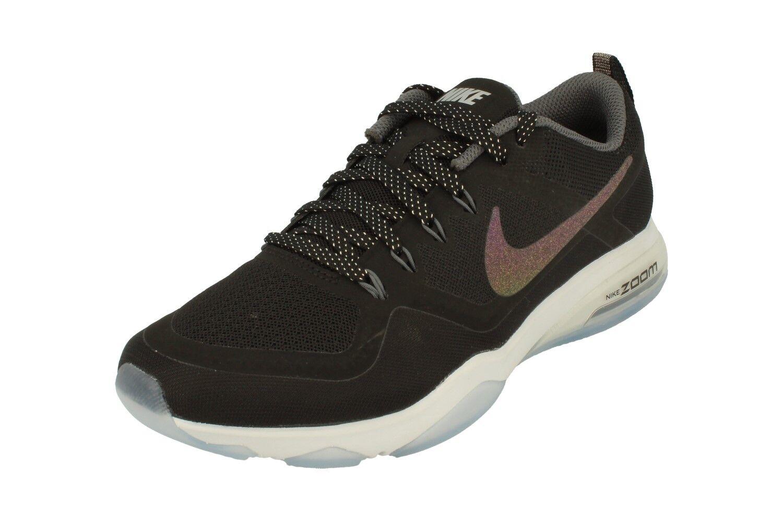 Nike Womens Air Zoom Fitness Metallic Running Trainers 922877 Sneakers 001