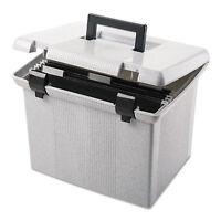 Pendaflex Portafile File Storage Box Letter Plastic 13 7/8 X 14 X 11 1/8 Granite on sale