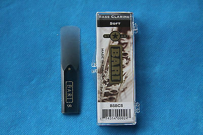 2.0-2.5 Soft Strength Bari Original Series Synthetic Alto Sax Reed MPN BRASS