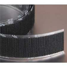 "VELCRO BRAND 161151 1/"" W x 75/' L Hook Black Reclosable Adhesive Fastener Roll"