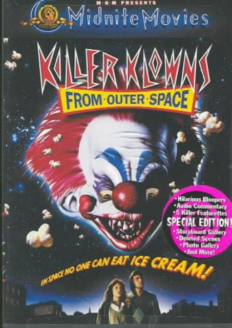 KILLER KLOWNS FROM OUTER SPACE NEW REGION 1 DVD