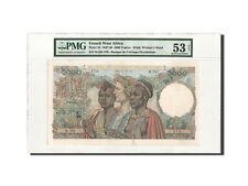[#460073] French West Africa, 5000 Francs, 22.12.1950, PMG AU53, KM:43