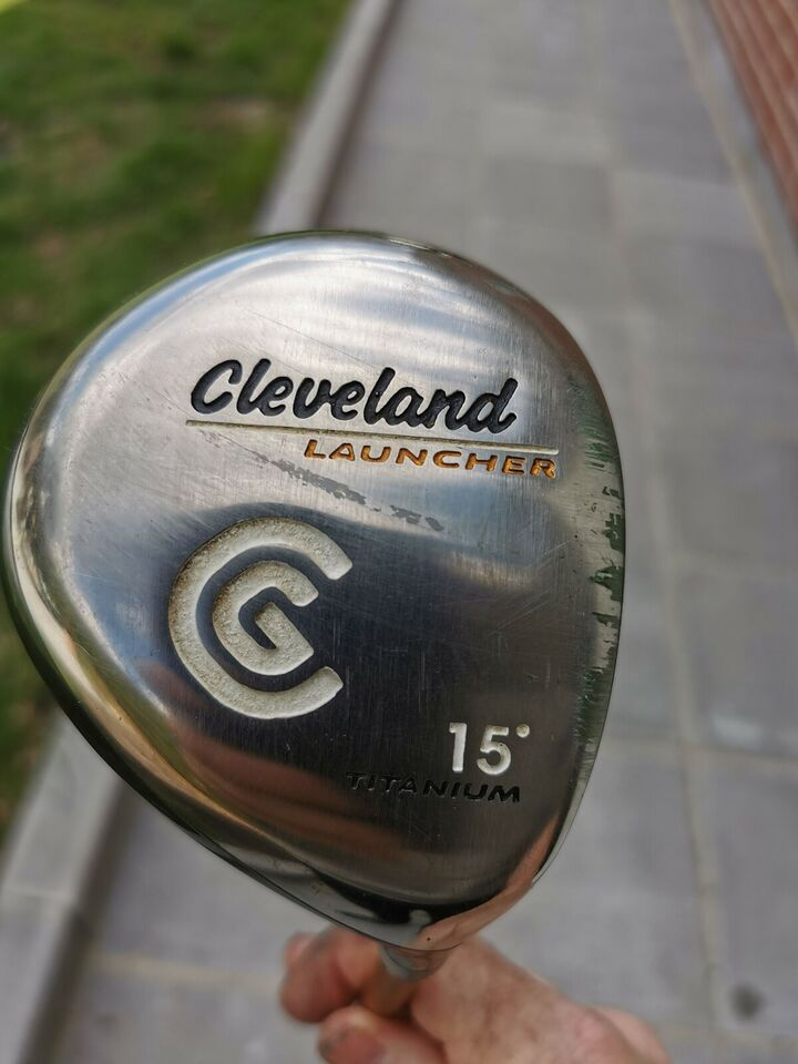 Kølle, andet materiale, Cleveland launcher 3 wood stiff.