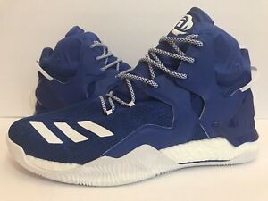 Adidas D Rose 7 Boost Basketball Shoes B38922 RoyalBlue/White Sz 13.5 15 16