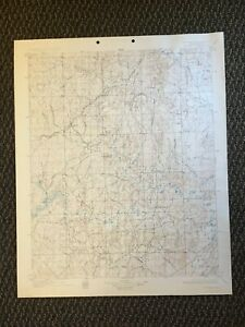 Details about Vintage USGS Nuyaka Oklahoma 1901 Topographic Map 1925