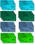 Indexbild 8 - 59-Stueck-ueben-Nahtmaterial-Kit-fuer-medizinische-und-veterinaermedizinische-Student-Ausbildung