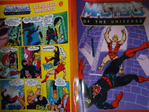 Quaderno Fumetto Vintage anni 80 HE-MAN MASTER OF THE UNIVERSE cover.1 G.131