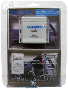USA SPEC PA15-FORD2 Ford Lincoln Mercury Car Stereo iPod Audio Adapter New